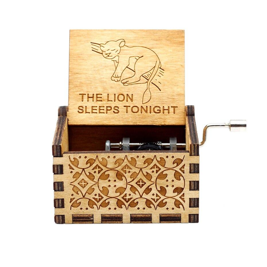 "Boite à Musique ""The Lion Sleeps Tonight"""