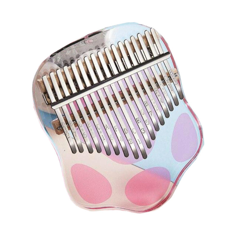 "Kalimba Transparent ""Rose"""