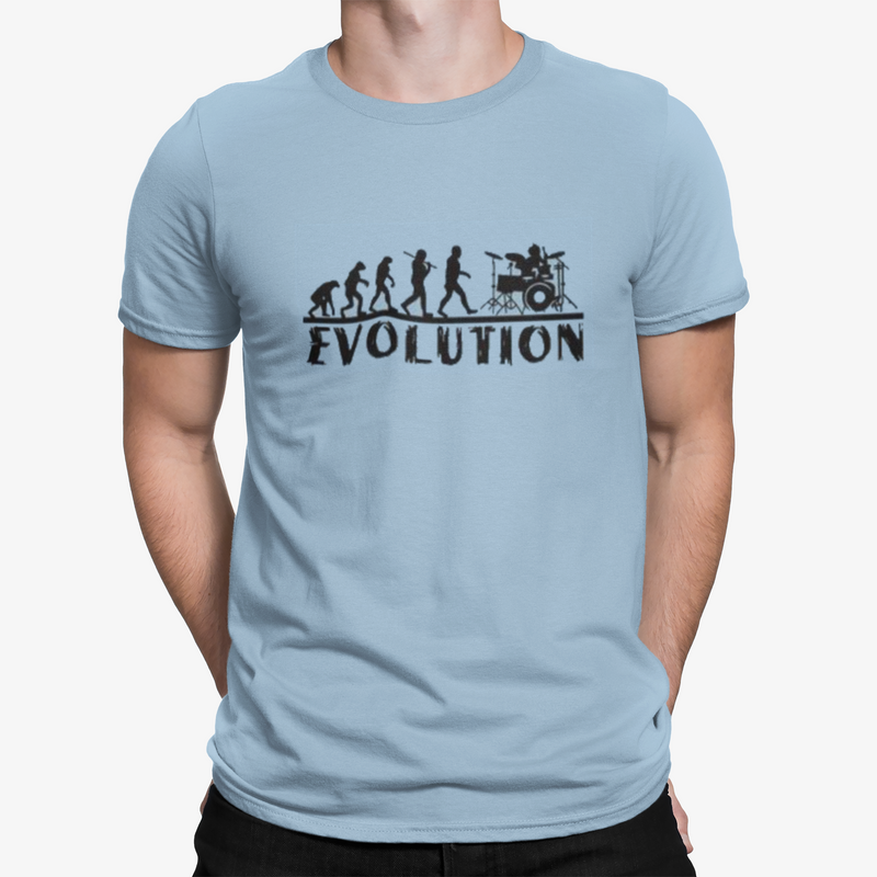 "T-Shirt ""Evolution of Rock"""