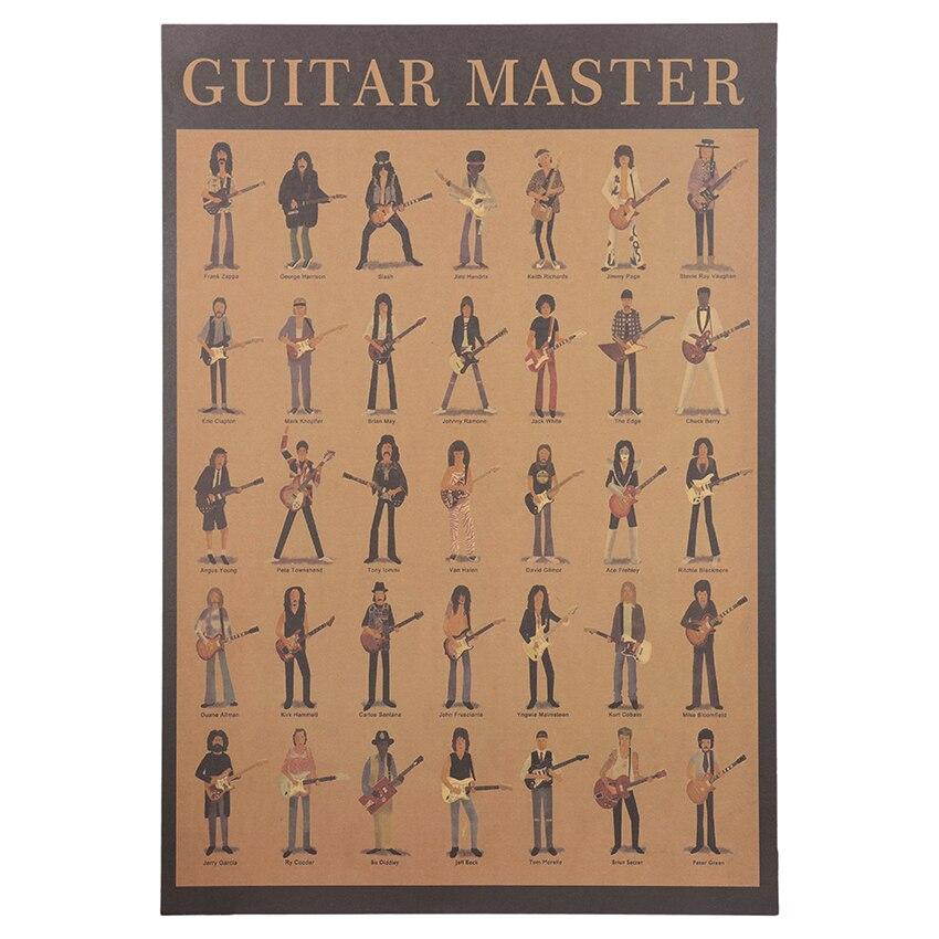 "Poster Musique ""The Guitar Master"""
