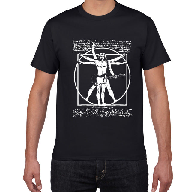 "T-Shirt ""The Vitruvian Rock Man"""