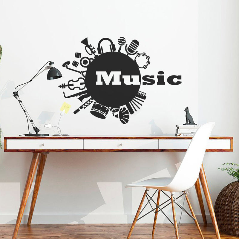 "Sticker Musique ""Music Themes"""