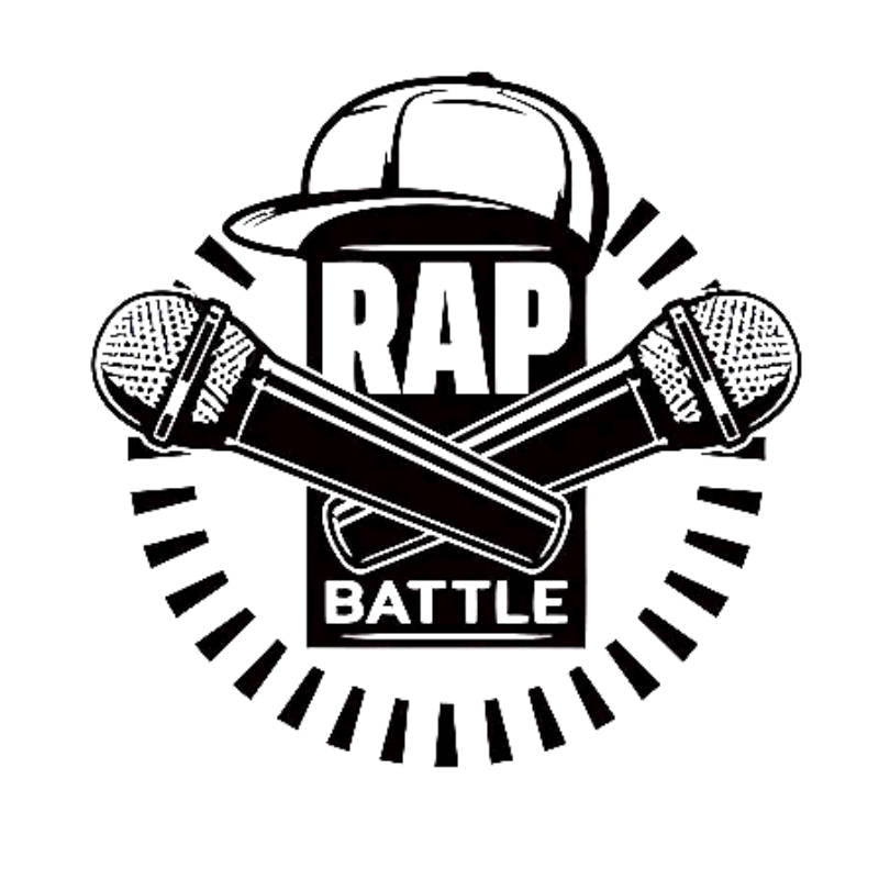 "Sticker Musique ""Rap Battle"""