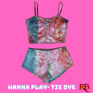 Wanna Play? - Tie Dye