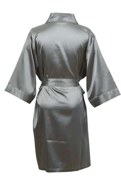 Dreamlover Robe - Charcoal