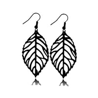 Bohemia Style Leaf Drop Dangle Earring for Women E4715