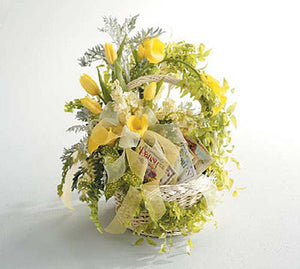 Flower Basket with Seed Packets