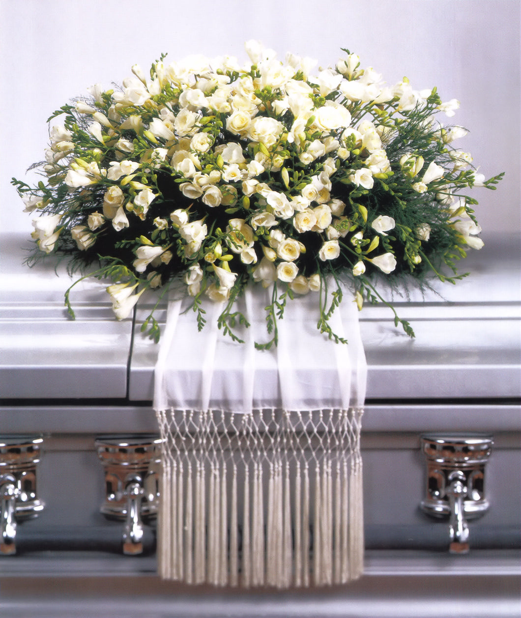 Freesia Casket Spray
