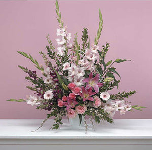 Traditional Pink Arrangement