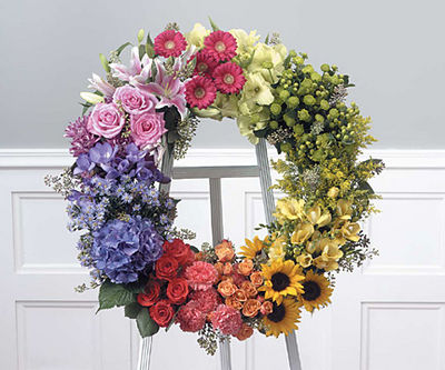 Polychromatic Wreath