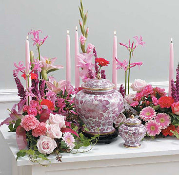 Tabletop Memorial Arrangement