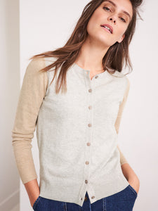 WHITE STUFF COLOURBLOCK CARDI