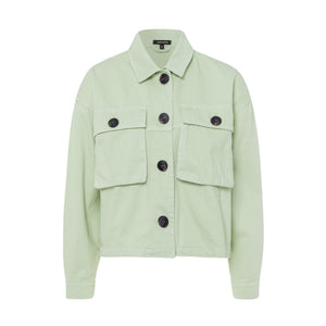 MORE & MORE <BR> Cargo Jacket <BR> Mint Green <BR>