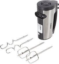 Load image into Gallery viewer, Stainless Steel Hand Mixer with 6 Speed Settings, Turbo Function, Stainless Steel Beater