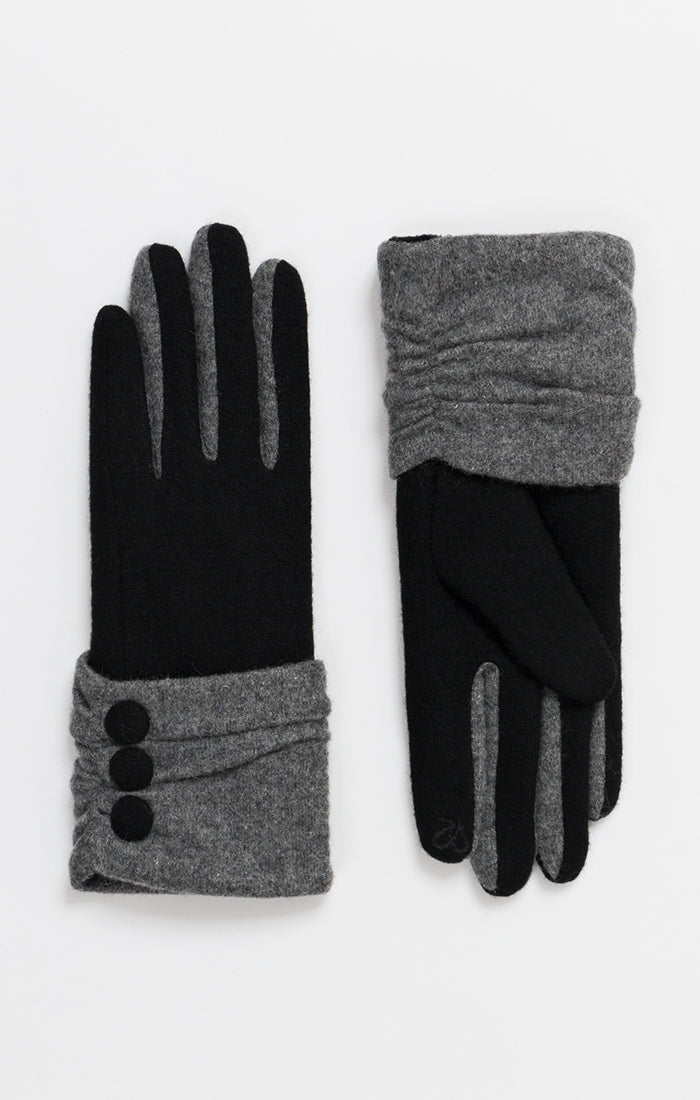PIA ROSSINI EIMEAR WOOL GLOVES