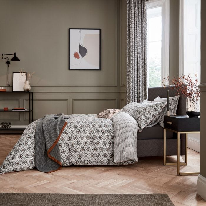 BEDECK OF BELFAST ALANI KING BED DUVET COVER