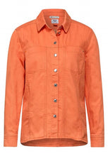 Load image into Gallery viewer, STREET ONE <BR> Denim Jacket <BR> Orange <BR>