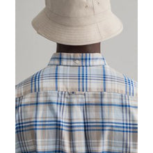 Load image into Gallery viewer, GANT <BR> Regular Fit Plaid Oxford Shirt <BR> Dry Sand <BR>