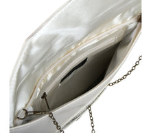 Load image into Gallery viewer, Envelop clutch bag Isabella (bone)