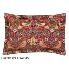 Load image into Gallery viewer, William Morris Strawberry Thief Oxford Pillow Case
