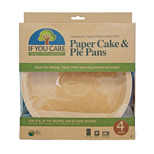 UNBLEACHED CAKE/PIE LINERS SET OF 4