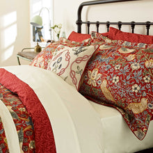 Load image into Gallery viewer, William Morris Strawberry Thief Duvet Cover King Size