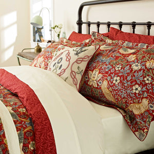 William Morris Strawberry Thief Duvet Cover King Size
