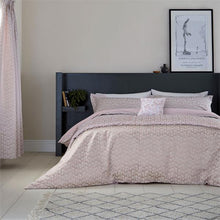 Load image into Gallery viewer, COPENHAGAN BY HELENA SPRINGFIELD MIKKEL BLUSH SINGLE DUVET SET
