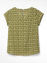 Load image into Gallery viewer, WHITE STUFF <BR> Kia Organic Cotton Top <BR> Yellow <BR>