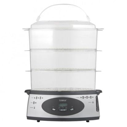 3 TOWER DIGITAL STEAMER