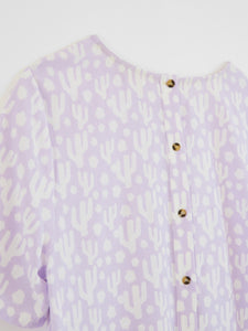 WHITE STUFF <BR> Cactus Top <BR> Purple <BR>