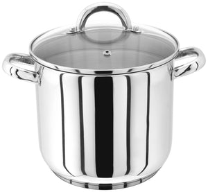JUDGE 20 CM GLASS LID, STAINLESS STEEL STOCKPOT