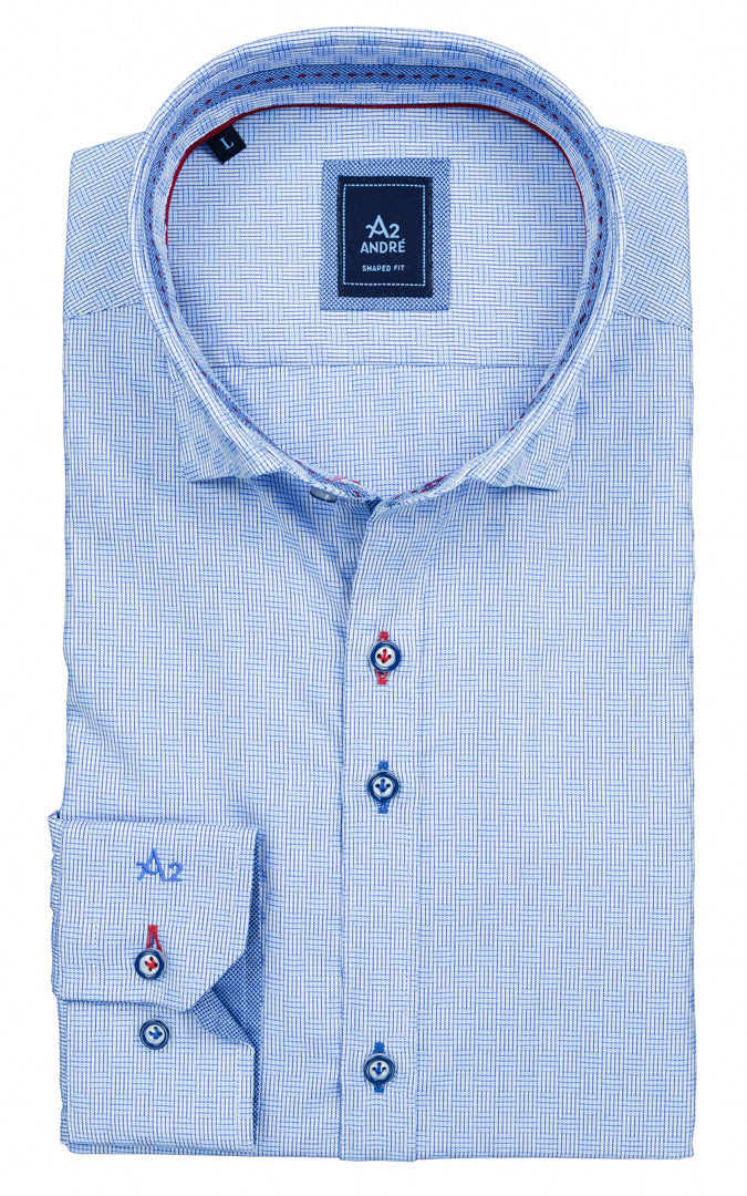 ANDRÉ CASUAL SHIRT PERRY BLUE