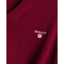 Load image into Gallery viewer, GANT Superfine Lambswool V-Neck sweater