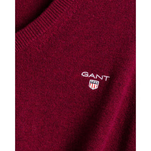 GANT Superfine Lambswool V-Neck sweater