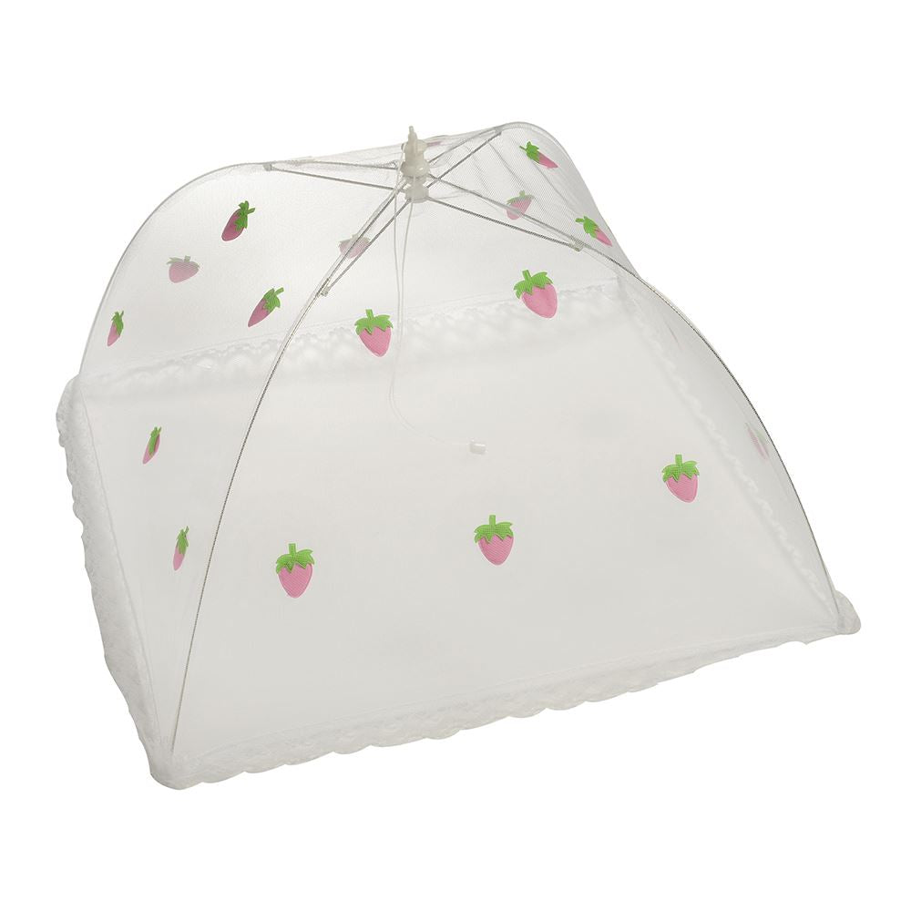STRAWBERRY FOOD COVER LARGE 48cm x 48cm