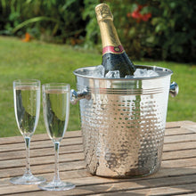 Load image into Gallery viewer, ELEGANT CHAMPAGNE BUCKET, HAMMERED