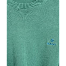 Load image into Gallery viewer, GANT <BR> Classic Cotton Crew Neck Jumper <BR>