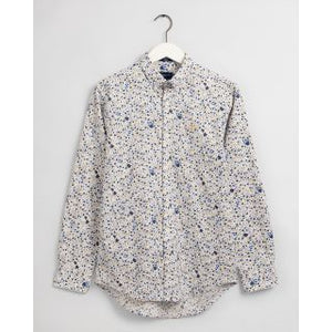 GANT Regular Fit City Branches Print Shirt