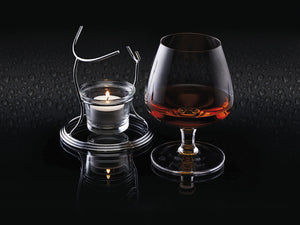 BARCRAFT BRANDY & COGNAC WARMER SET