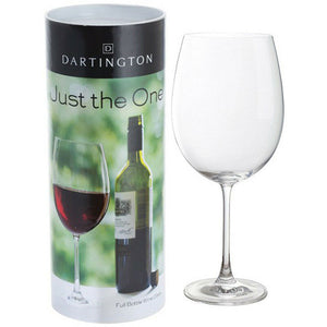 DARTINGTON CRYSTAL JUST THE ONE WINE GLASS