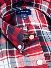 Load image into Gallery viewer, GANT REGULAR FIT, BRUSHED COTTON PLAID OXFORD