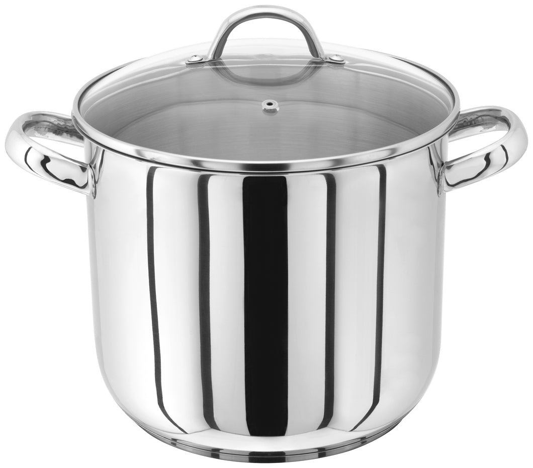 JUDGE 22 CM GLASS LID, STAINLESS STEEL STOCKPOT