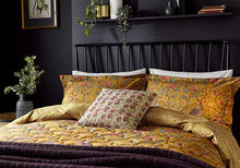 Load image into Gallery viewer, William Morris Seasons by May Duvet Cover, Saffron Superking Size