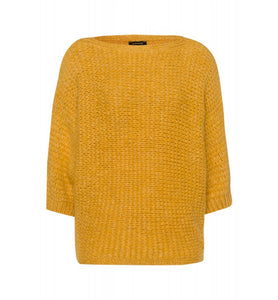 MORE & MORE <BR> Loose Knit Jumper <BR> Autumn Gold <BR>
