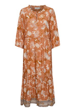 Load image into Gallery viewer, CREAM <BR> Johui Dress <BR> Peach <BR>