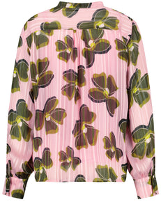 GERRY WEBER <BR> TOP <BR> Pink & Khaki <BR>