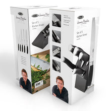 Load image into Gallery viewer, STELLAR <BR> James Martin 5 Piece Knife Block Set <BR>