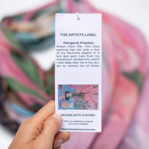 THE ARTISTS LABEL <BR> Margaret Preston Scarf <BR>