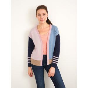 WHITE STUFF <BR> Reversible Cardi <BR> Natural <BR>